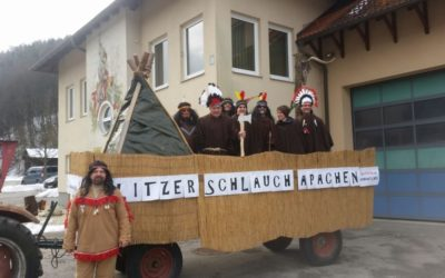 Faschingstreiben in Edlitz